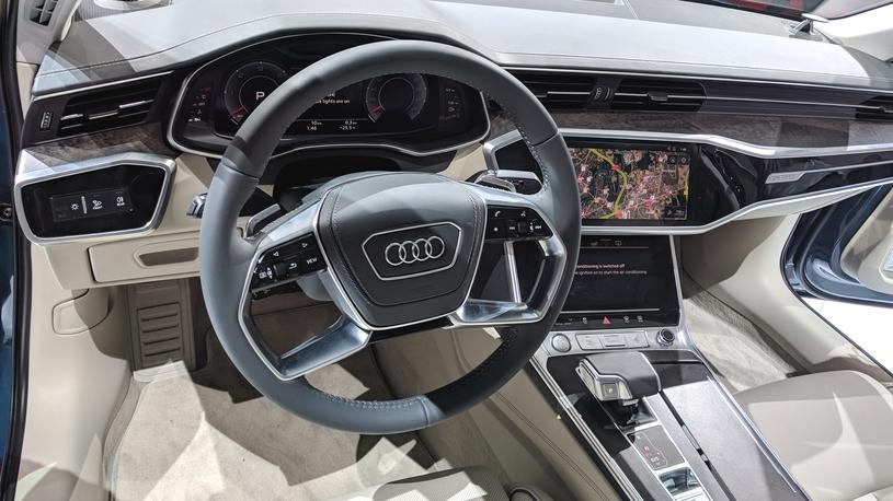 Audi представила седан A6 нового поколения на Женевском автосалоне