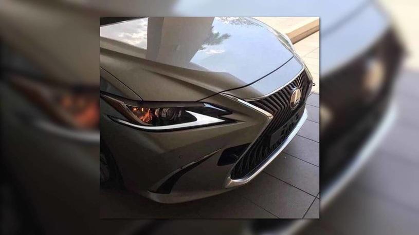Новое поколение седана Lexus ES попалось фотошпионам