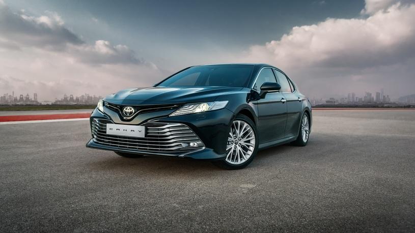 В России стартовали продажи новой Toyota Camry