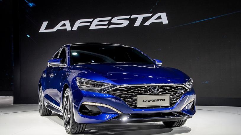 Компания Hyundai представила новейший спортивный седан