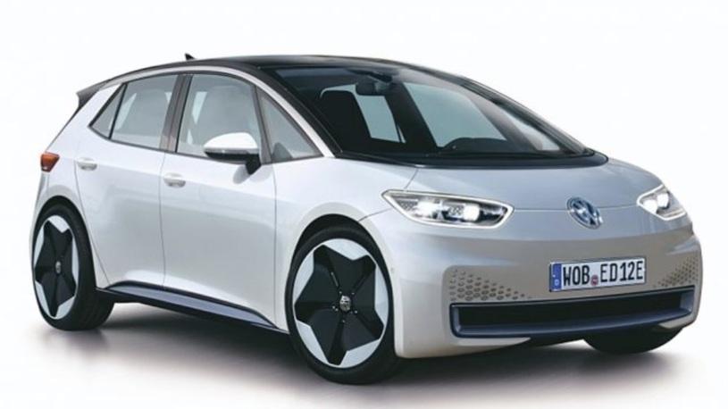 Появилось изображение новейшего электромобиля Volkswagen