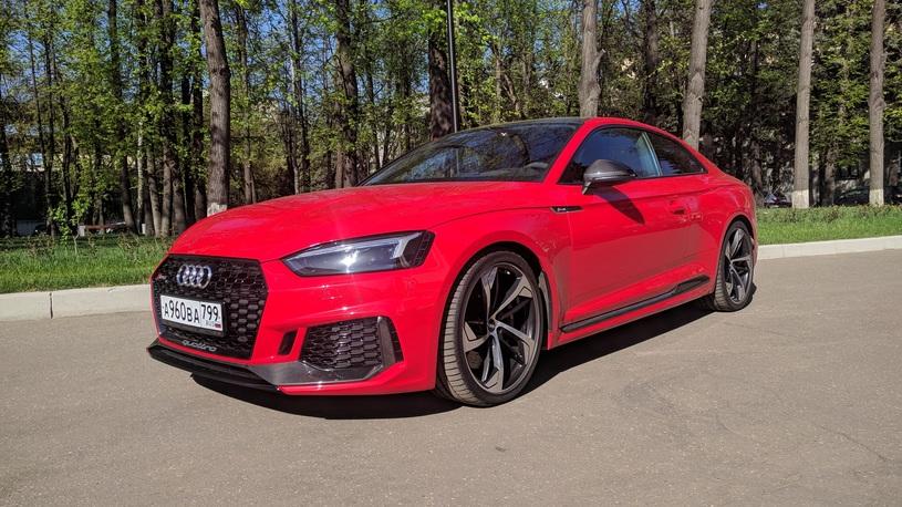 Посчитали-прослезились: карбоновый кожух двигателя Audi RS 5