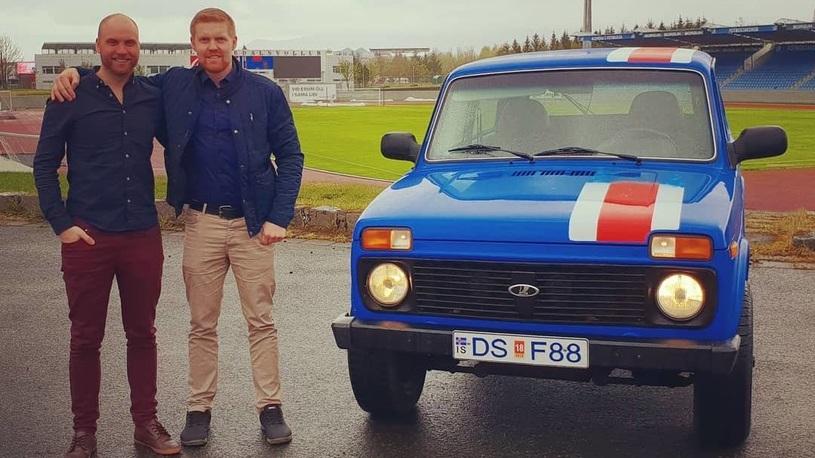 Футбольные болельщики из Исландии едут в Россию на