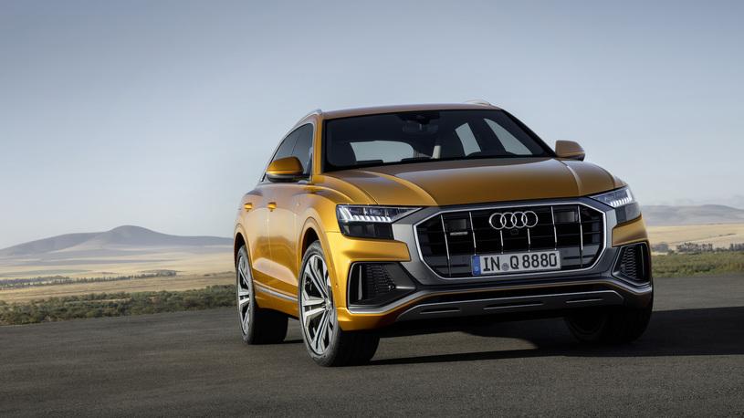 В Россию привезут дизельную версию Audi Q8