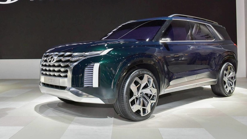 Представлен концепт флагманского кроссовера Hyundai