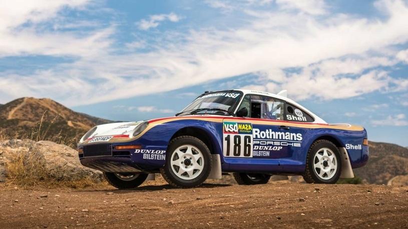 Porsche, построенный для ралли