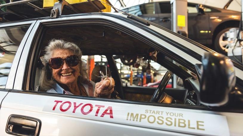 81-летняя пенсионерка доехала из Африки в Лондон на старой