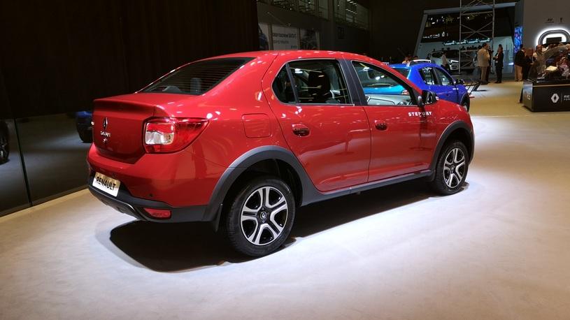 Начались продажи «вседорожного» Renault Logan с вариатором
