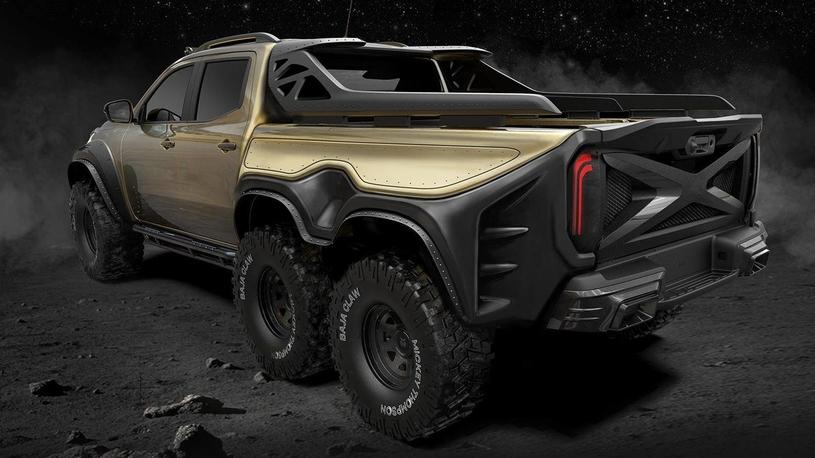 Пикап Mercedes-Benz X-класса получит три оси
