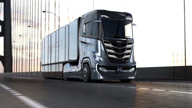 Представлен 1000-сильный водородный тягач для европейских дорог