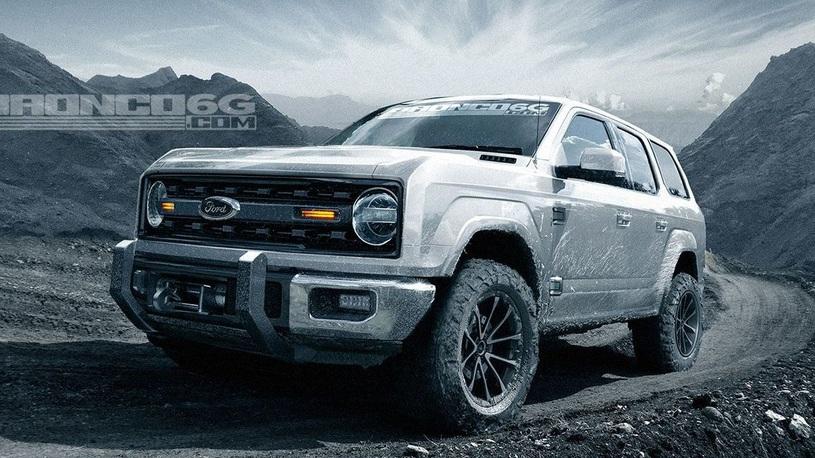 Возрождение культового Ford Bronco: будет сразу два внедорожника