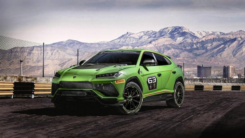 Lamborghini отправит кроссовер Urus на собственное ралли