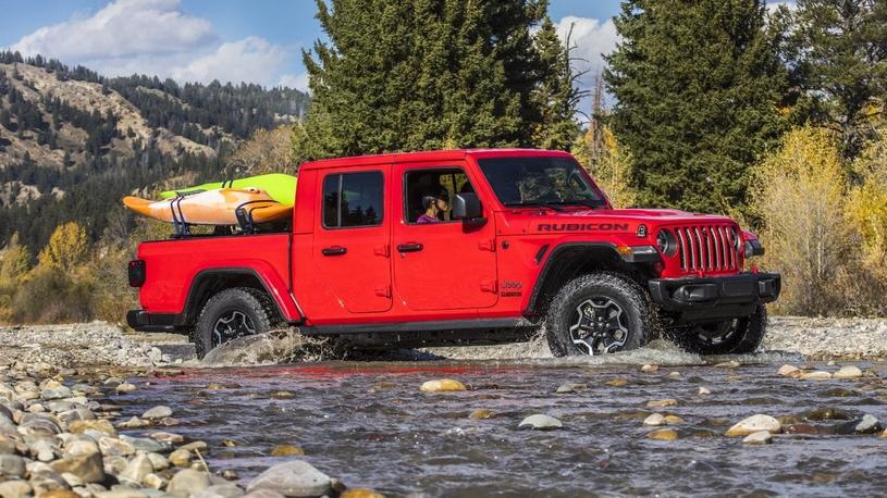 Производитель автомобилей Jeep представил новый пикап Gladiator