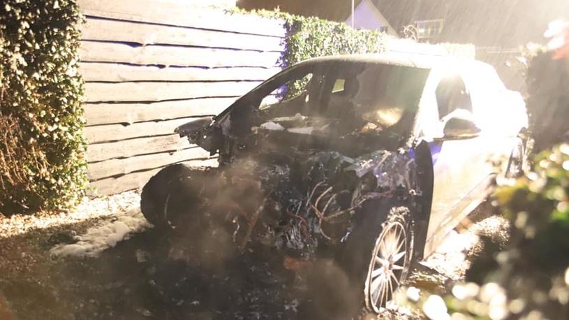 Сгорел первый электрокроссовер Jaguar I-Pace