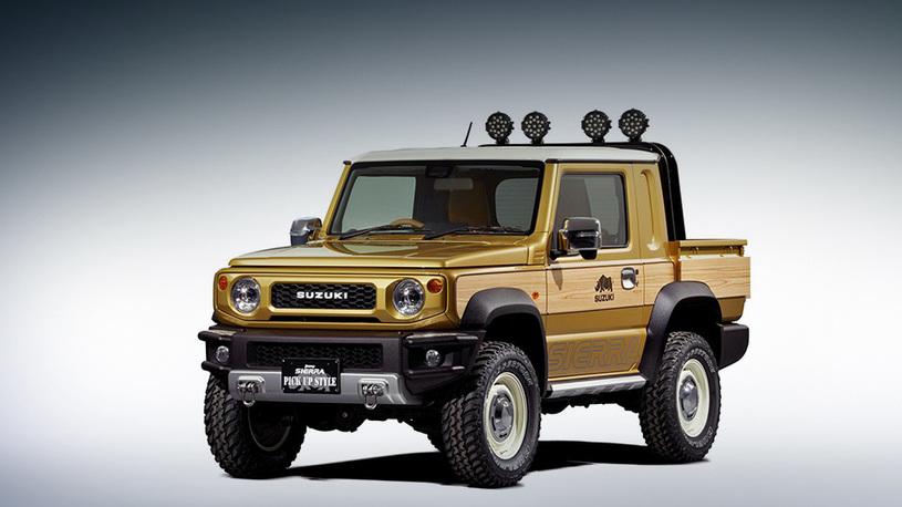 """Как сделать """"Гелендваген"""" из дешевого Suzuki: 5 очень крутых тюнинг-проектов"""