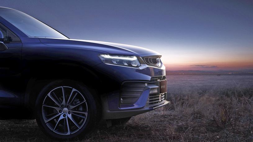 Geely показала новое кросс-купе в стиле BMW X4 с техникой от Volvo