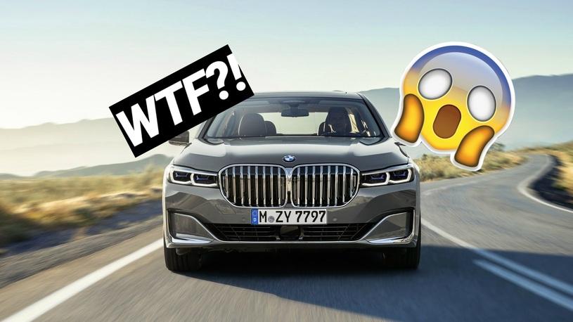 Ноздри на 40% больше! Реакция соцсетей на странный дизайн BMW 7 Серии 2019