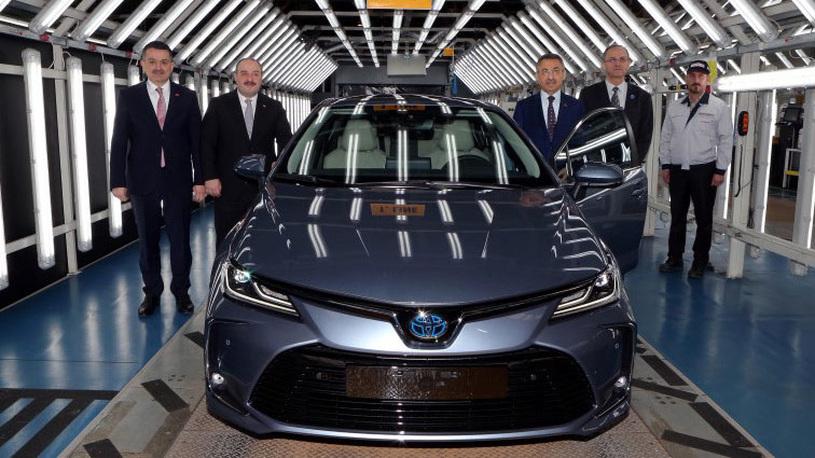 Стартовало производство новой Toyota Corolla для России