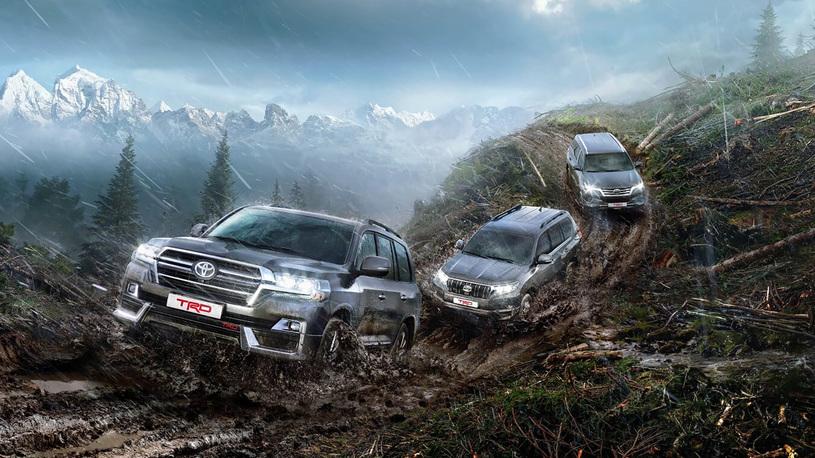 Toyota привезет в Россию Land Cruiser в тюнинг-версии TRD