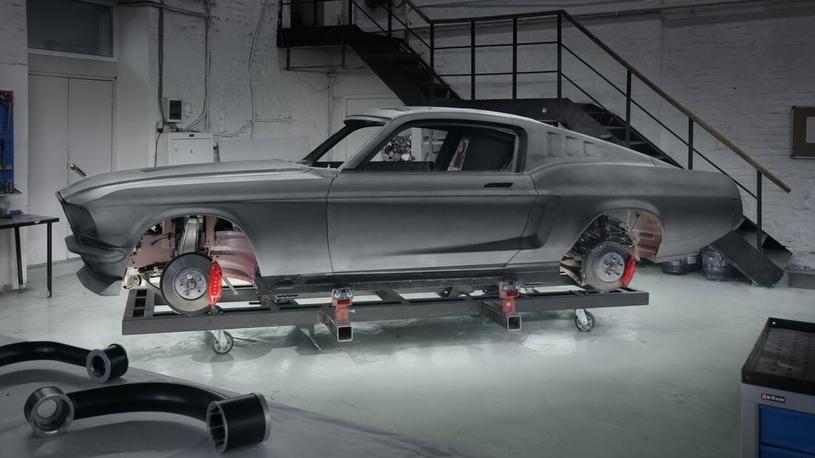 В Российской Федерации наладят выпуск электрокара свнешностью Форд Mustang