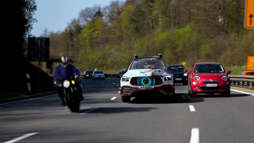Mercedes-Benz представил ультрабезопасный кроссовер
