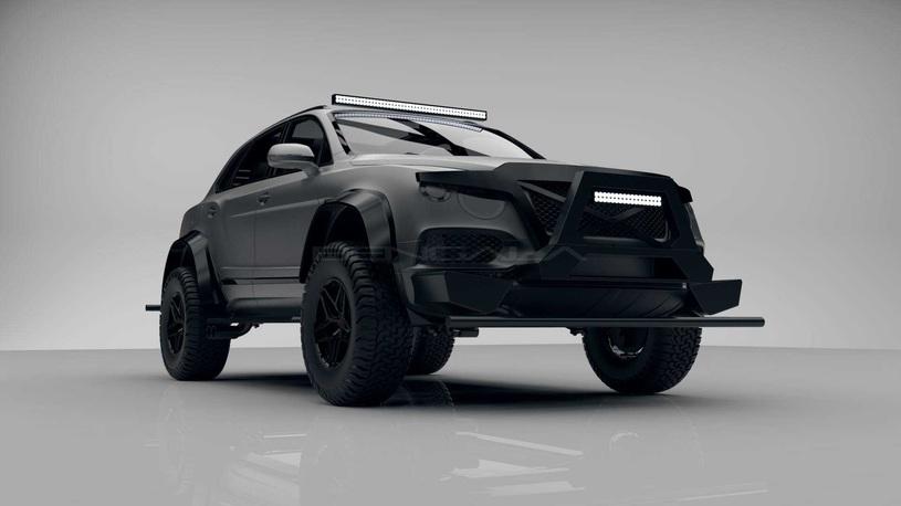 Bentley Bentayga превратится в настоящий танк