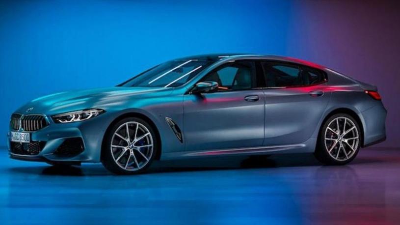Опубликованы фото 4-дверного купе BMW 8 серии