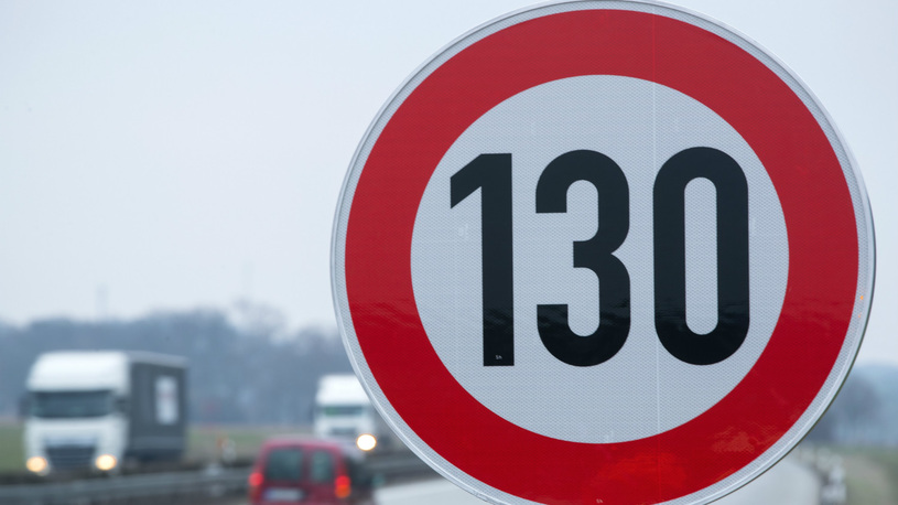 В России могут повысить максимально разрешенную скорость до 130 км/ч