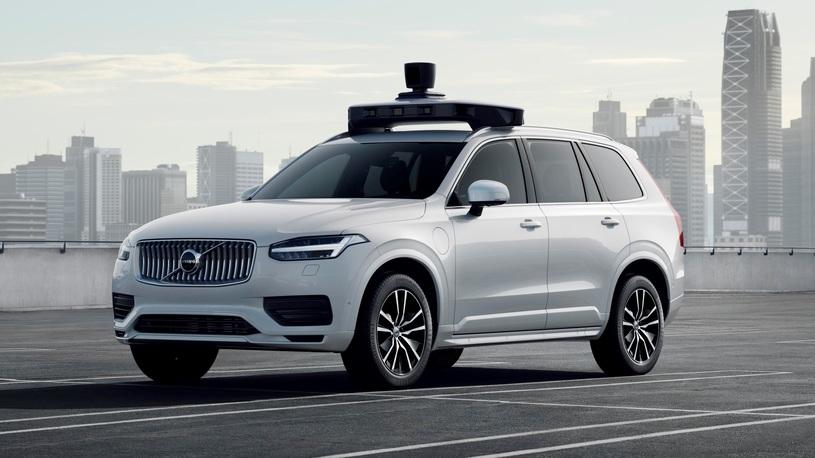 Volvo и Uber представили первый серийный беспилотник. И это XC90!