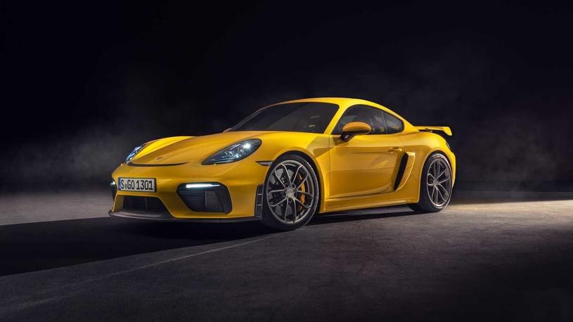 "Porsche вернула ""Кайману"" и ""Бокстеру"" 6-цилиндровые моторы"
