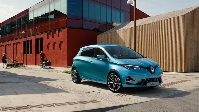 Renault основательно переработал электрокар Zoe