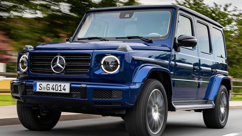"Mercedes-Benz G-класса стал ""сильнее времени"""