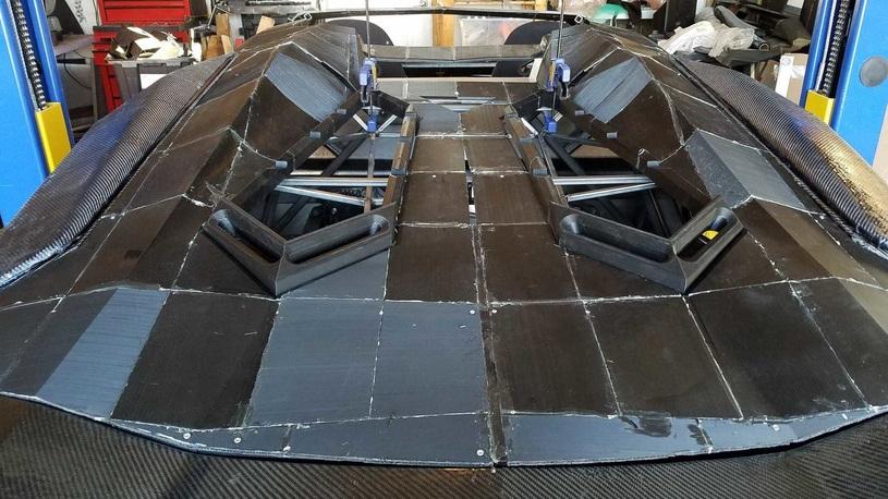 Как недорого напечатать Lamborghini Aventador 1:1 на 3D-принтере
