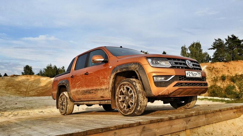 Таких Amarok больше не будет! Обзор и тест-драйв Volkswagen Amarok V6 (видео)