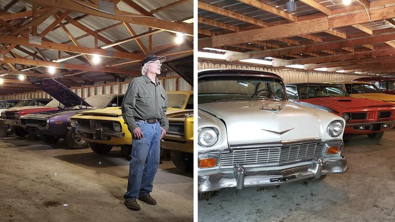 Эль Койот распродает коллекцию масл-каров, которые собирал всю жизнь (видео)