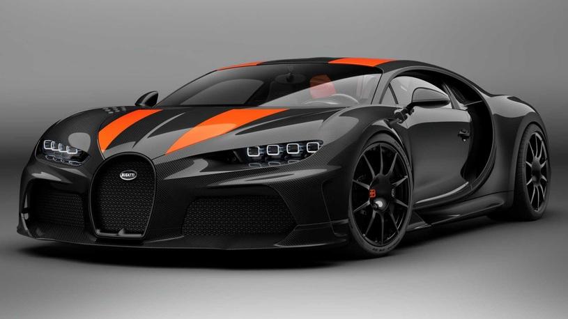 Рекордный Bugatti Chiron в серийной версии можно будет купить