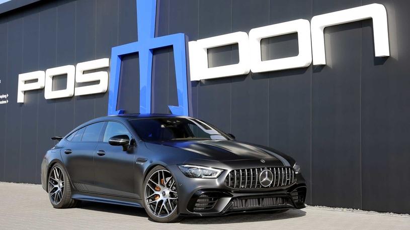 Четырехдверный Mercedes-AMG GT 63 S зарядили вровень с гиперкарами