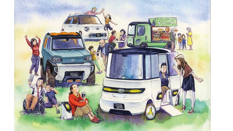 Daihatsu редуплицировала свои компакты на зависть владельцам больших машин