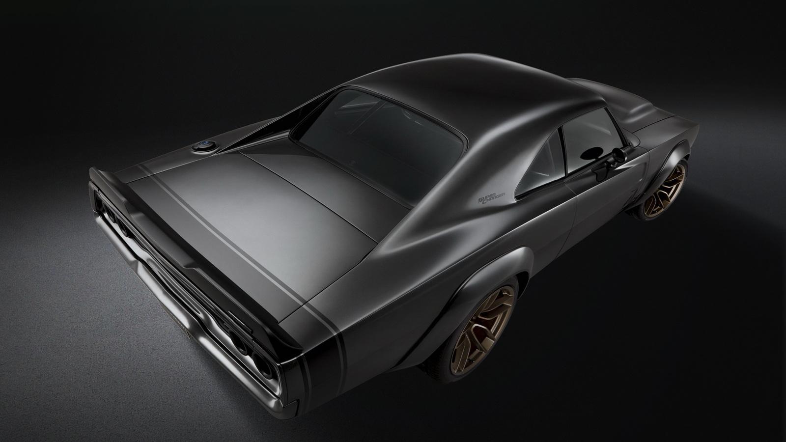 Dodge Charger 1968 года получил тысячесильный V8