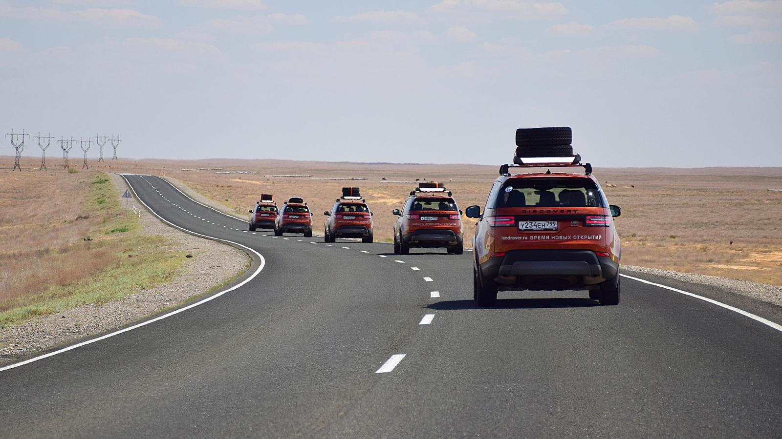 965 - Близкий космос: на новом Land Rover Discovery – по плато Устюрт