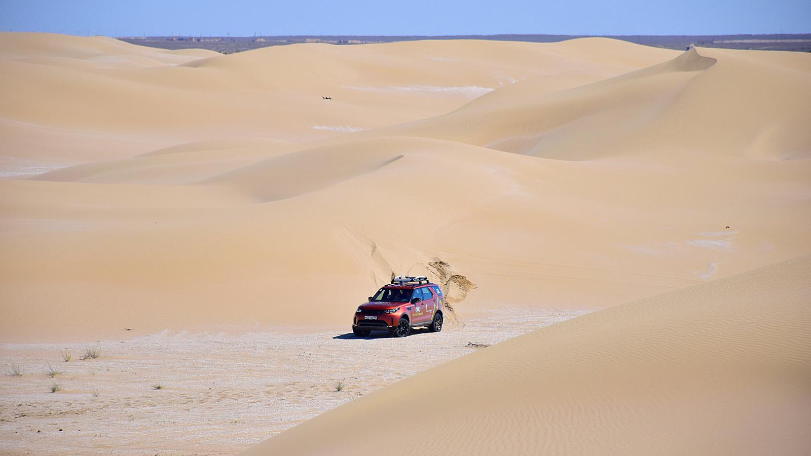 025 - Близкий космос: на новом Land Rover Discovery – по плато Устюрт
