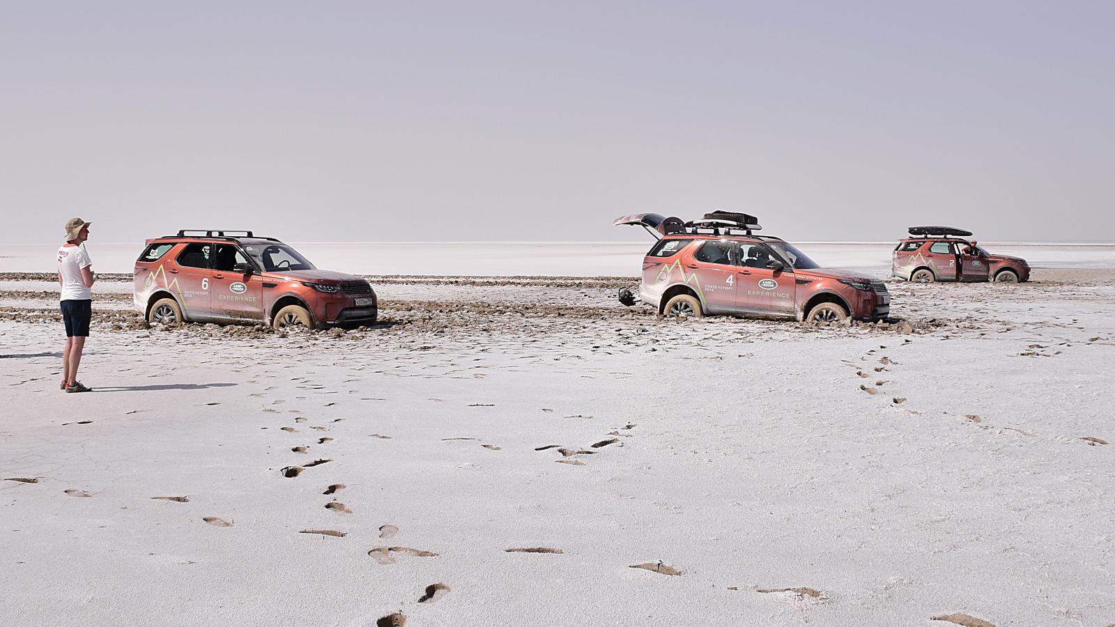 385 - Близкий космос: на новом Land Rover Discovery – по плато Устюрт