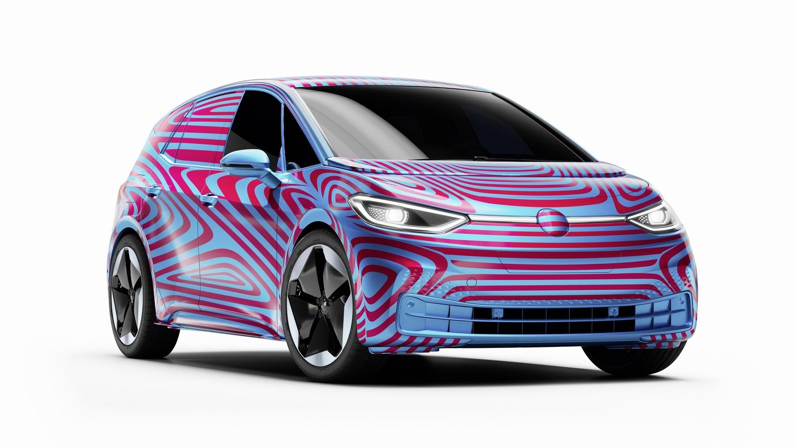Первые изображения интерьера электрокара Volkswagen ID.3: вот так сюрприз!