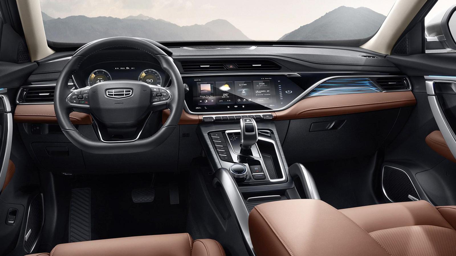 Обновленный Geely Atlas Pro для России получил мотор Volvo