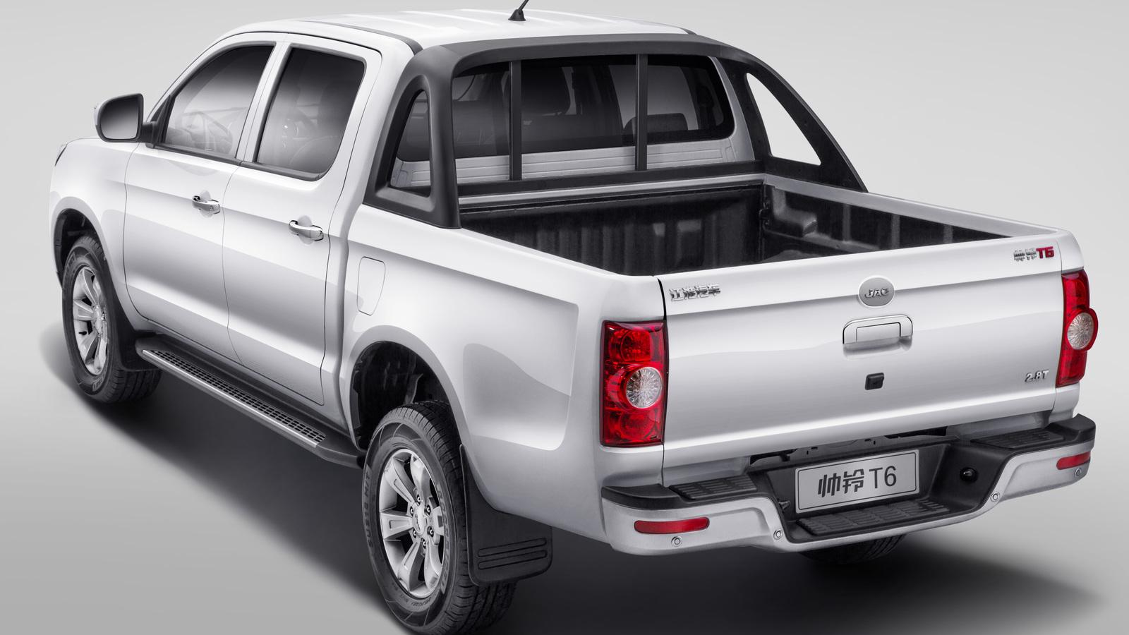 Новый пикап JAC T6 появится на российском рынке в сентябре