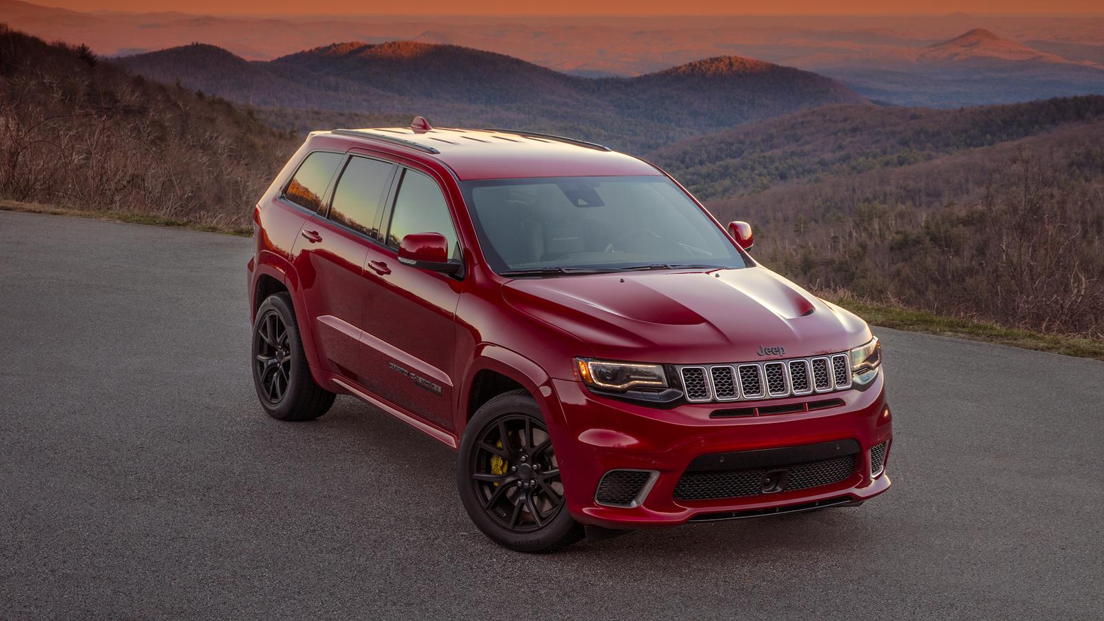 "Совсем дикий! Тест-драйв ""заряженного"" Jeep Grand Cherokee Trackhawk (+видео)"