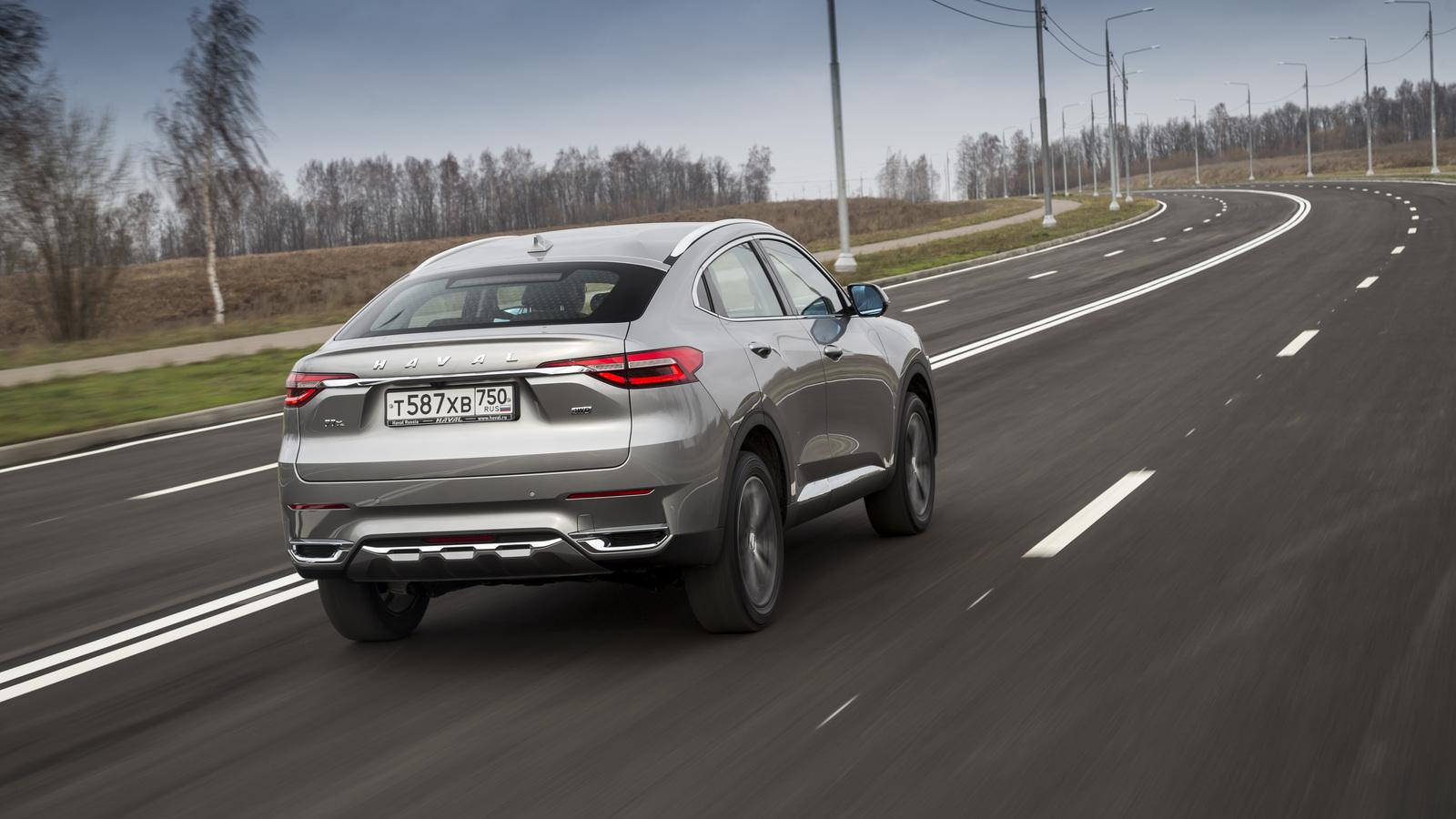 Российские цены на кросс-купе Haval F7x оказались с сюрпризом