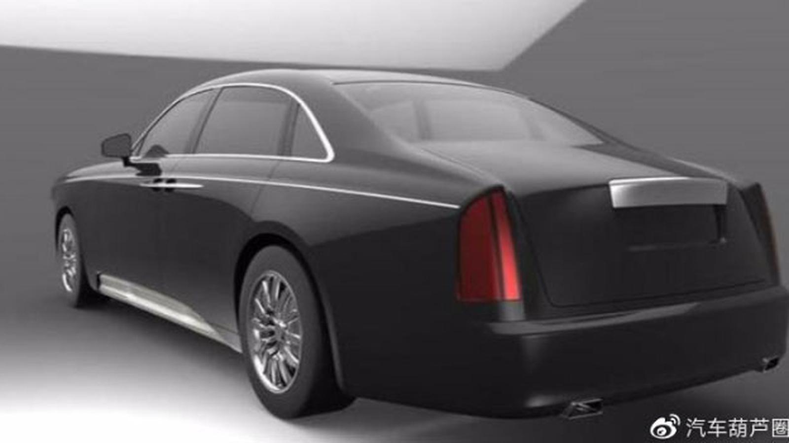 """Новый """"китайский Роллс"""" оказался действительно похож на Rolls-Royce"""