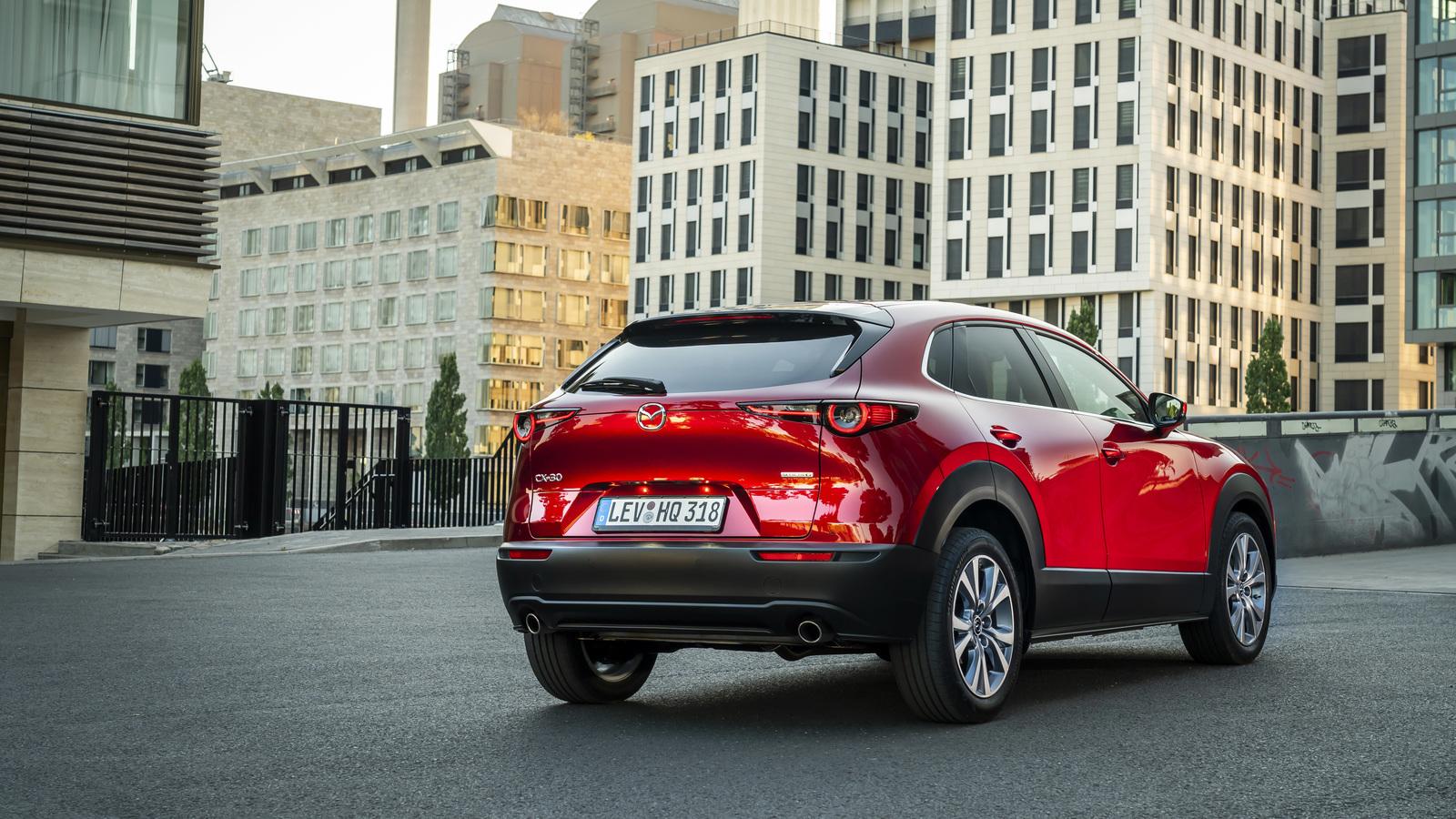 Mazda CX-30 задерживается на пути в Россию