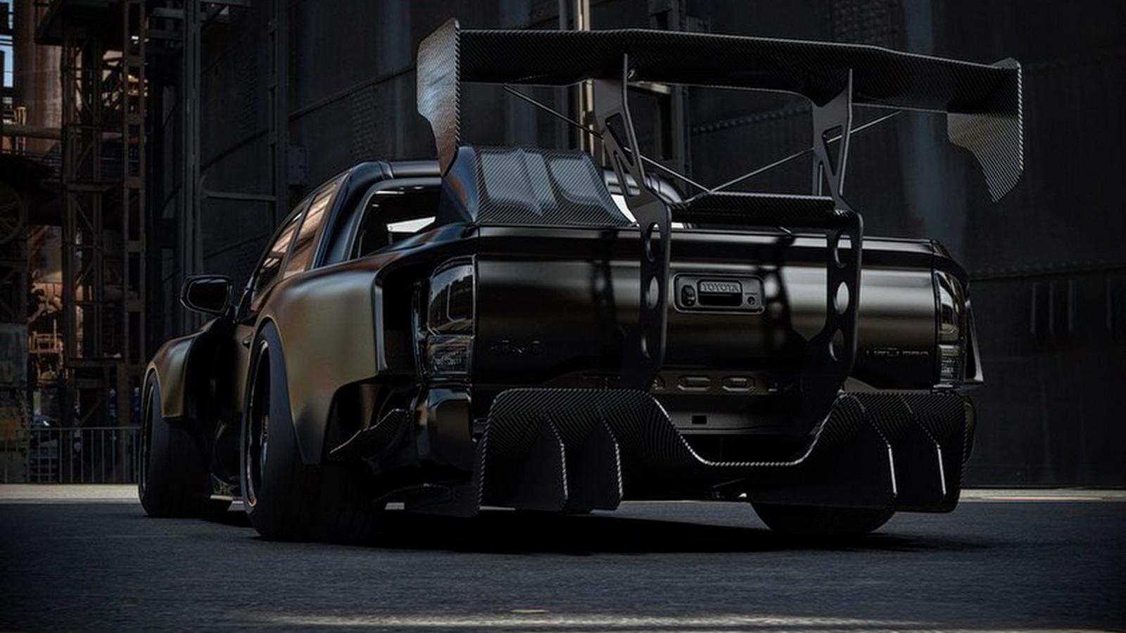 Пикап Toyota Takoma превратили в один из самых диких дрифт-каров в мире